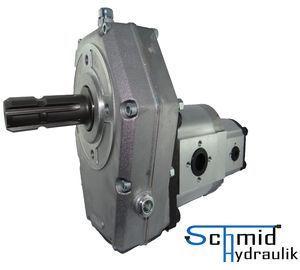 Zapfwellengetriebe Mit Stummel Und 51ccm25ccm Doppelpumpe Bg3