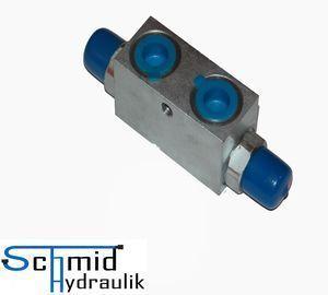 Hydraulik Sperrblock Rückschlagventil z.B Aktion!! für Oberlenker 12L