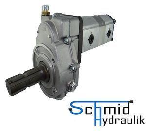 Zapfwellengetriebe Mit Stummel Und 14ccm14ccm Doppelpumpe Bg2