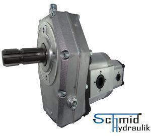 Zapfwellengetriebe Mit Stummel Und 43ccm25ccm Doppelpumpe Bg3
