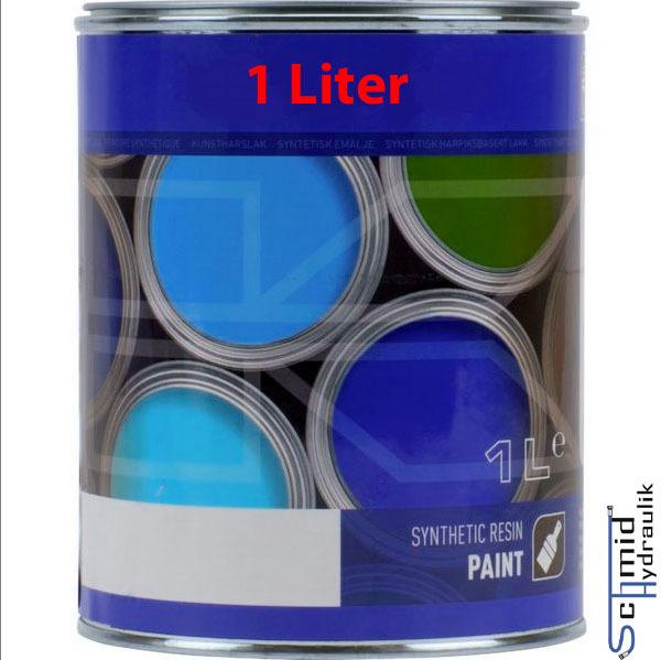 RAL 5015 Himmelblau 1 Liter Farbe Lack Kunstharzlack
